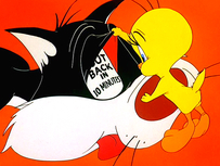 Nuance and Suggestion in the Tweety and Sylvester Series
