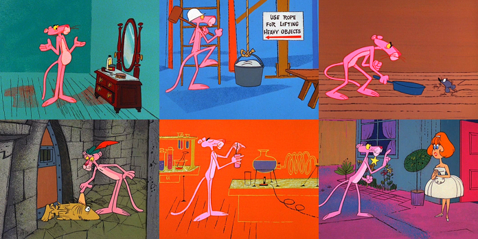 The Pink Panther Show Page